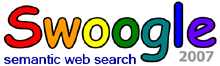 Swoogle 2007 semantic web search engine