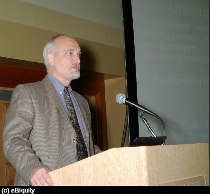 Tim Finin at AAAI 2004
