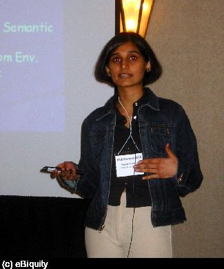 Deepali at Mobiquitous '04
