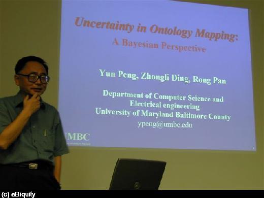 Yun Peng presents at I3CON