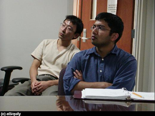 Pranam and Yang Yu