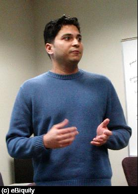 Mohinder presents his work on securing Task Computing