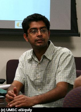 Akshay Java discusses mapping between OntoSem and OWL