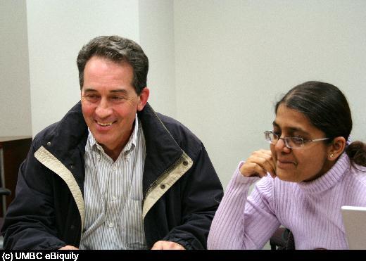 Tim Ganous and Sheetal Agarwal