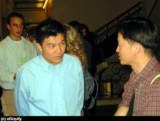 Harry Chen at the 2004 AAAI SPring Symposium.