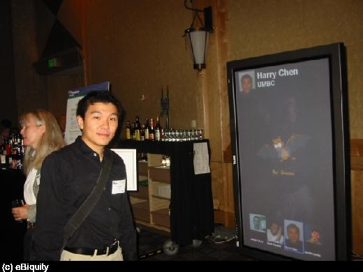 Intel's Proactive Display Demo (UbiComp 2003)